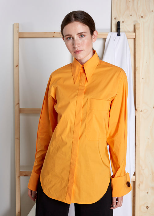 REJINA PYO - Mira Shirt - orange