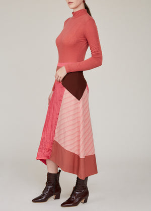 REJINA PYO - Ava skirt - Japanese wool suiting mix