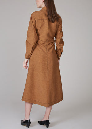 REJINA PYO - Paula dress - brown
