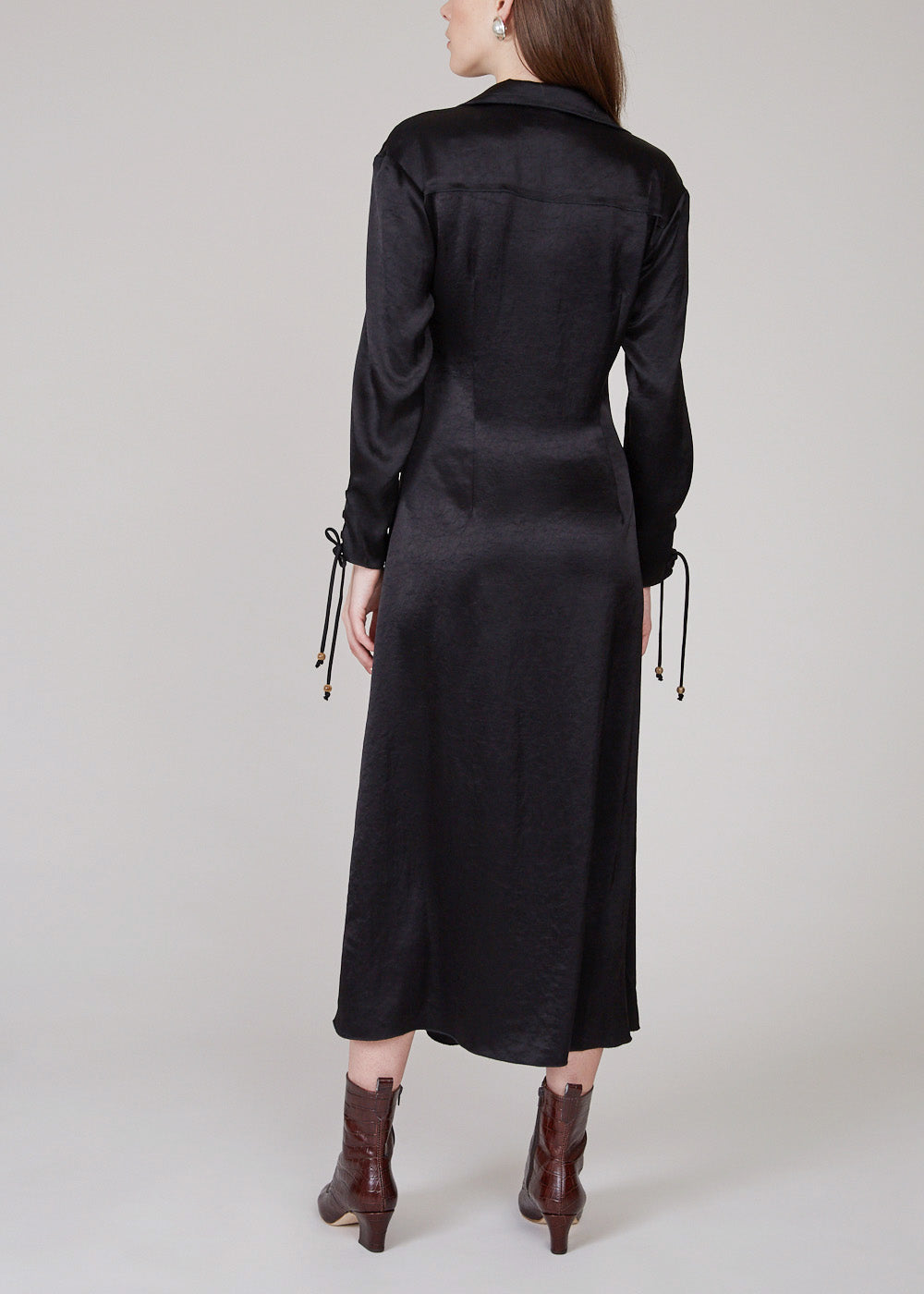 NANUSHKA - Akita dress - black