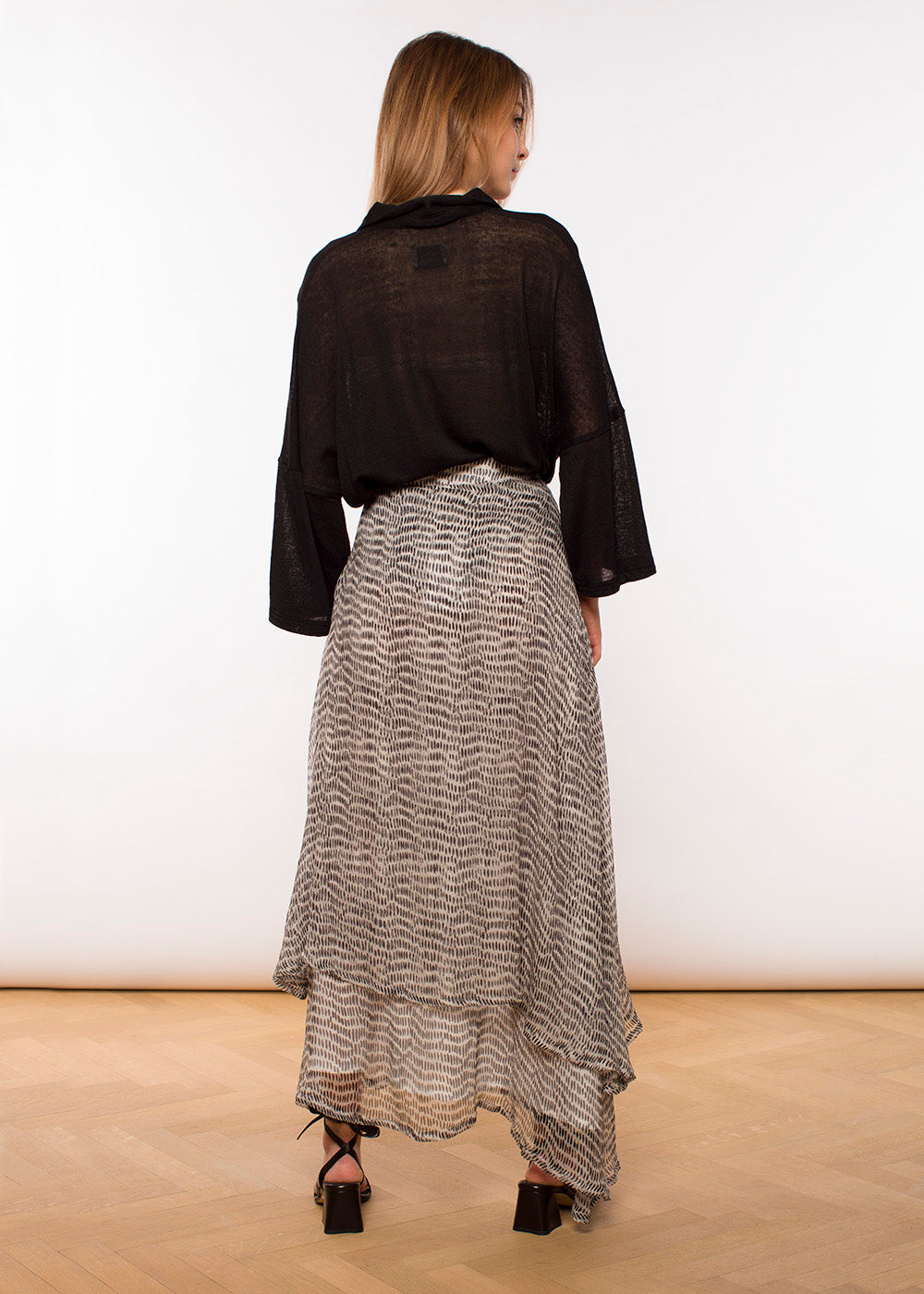 Valerie Skirt Long - Print