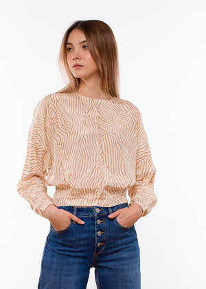 HOUSE OF DAGMAR - Sigrid Top - Print