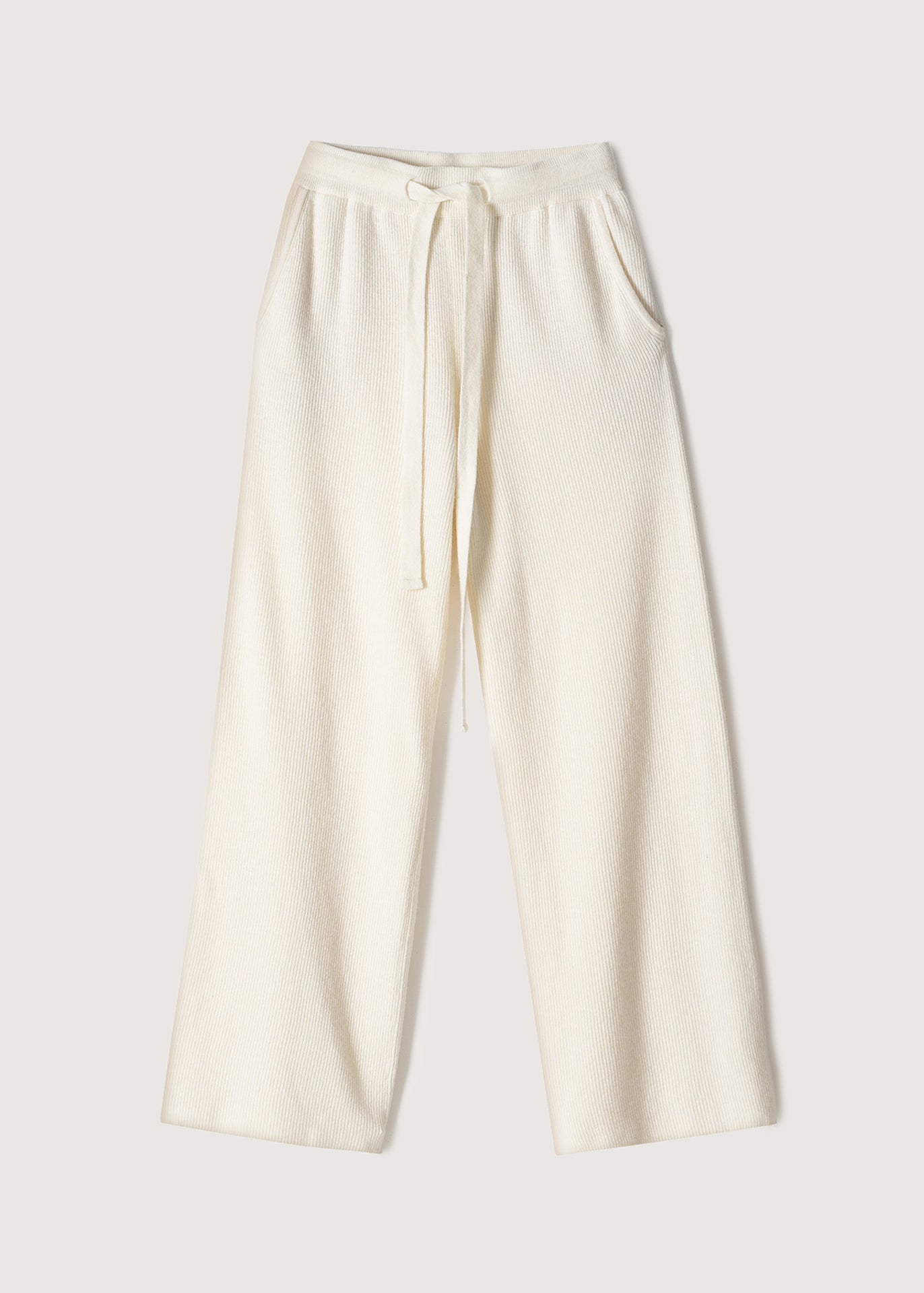 Oni Knit Pants - Cream