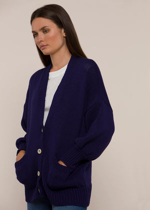 Ann Cardigan - Blue