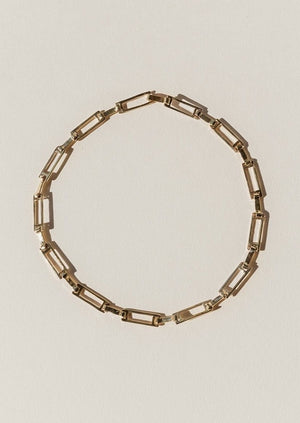 Grid Collar - Bronze