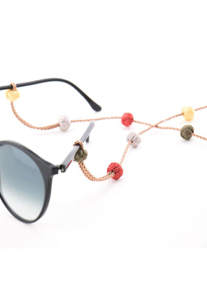 Sunglass Strap - Bronze Multi
