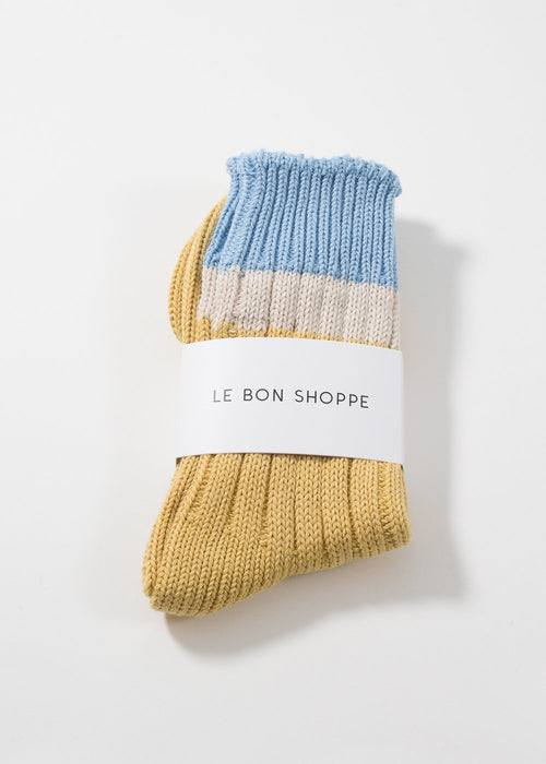 LE BON SHOPPE - Camp socks - powder yellow