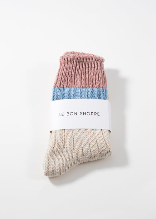 LE BON SHOPPE - Camp socks - linen