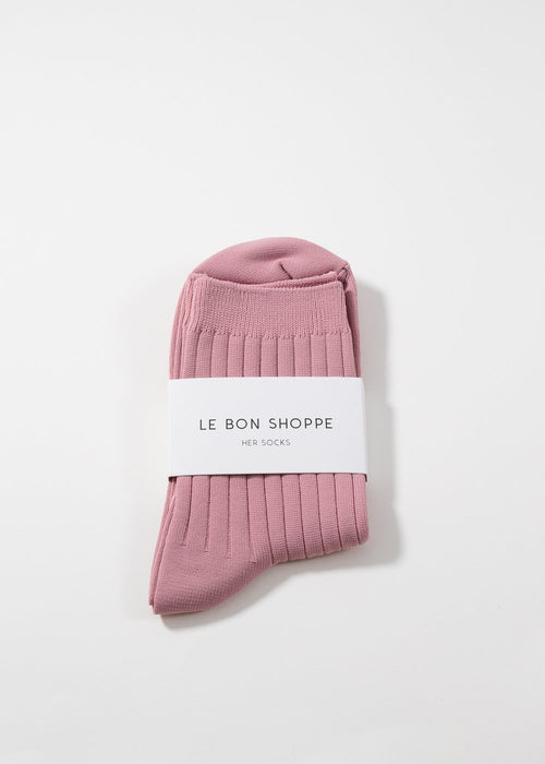 LE BON SHOPPE - Her socks - desert rose