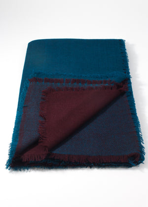 Iris Delruby - Horizon - deep teal/decadente chocolate
