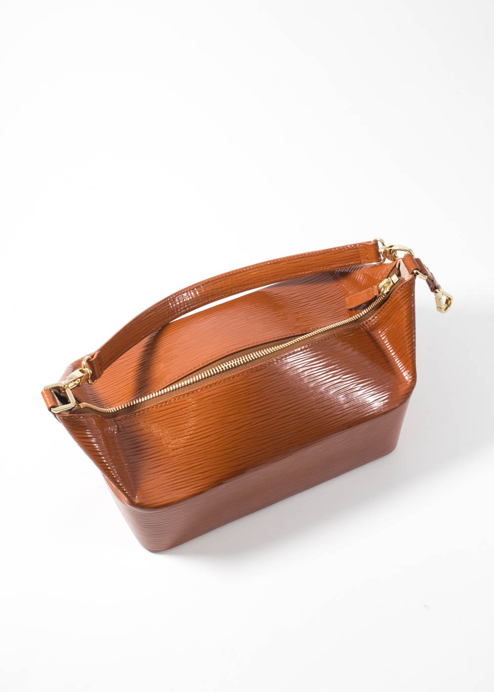 Rejina Pyo - Olivia bag - patent leather emboss almond