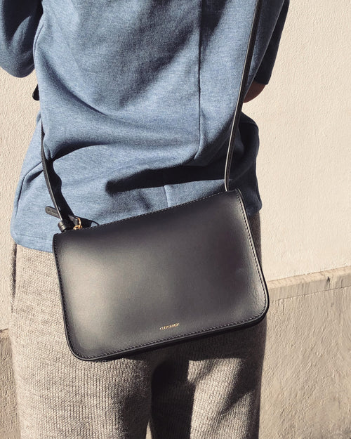 CUEROANDMOR - Mini Crossbody Bag Black