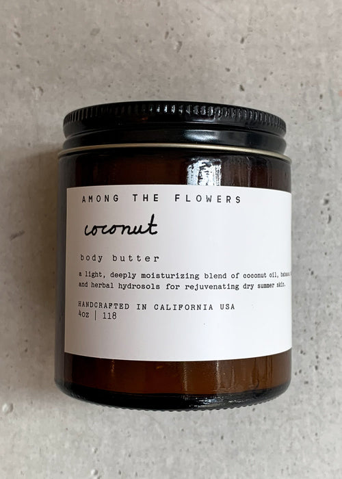 AMONG THE FLOWERS - coconut body cream