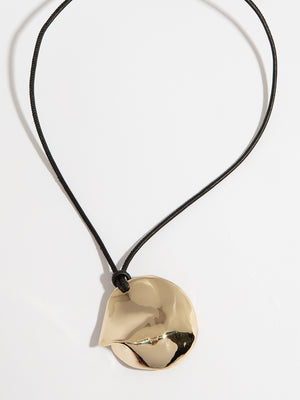 Medaille Necklace - Bronze