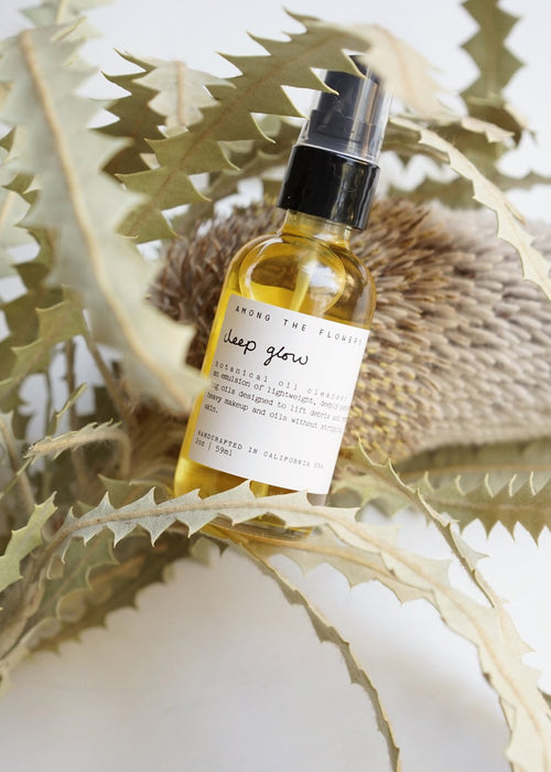 AMONG THE FLOWER - deep glow botanical oil cleanser