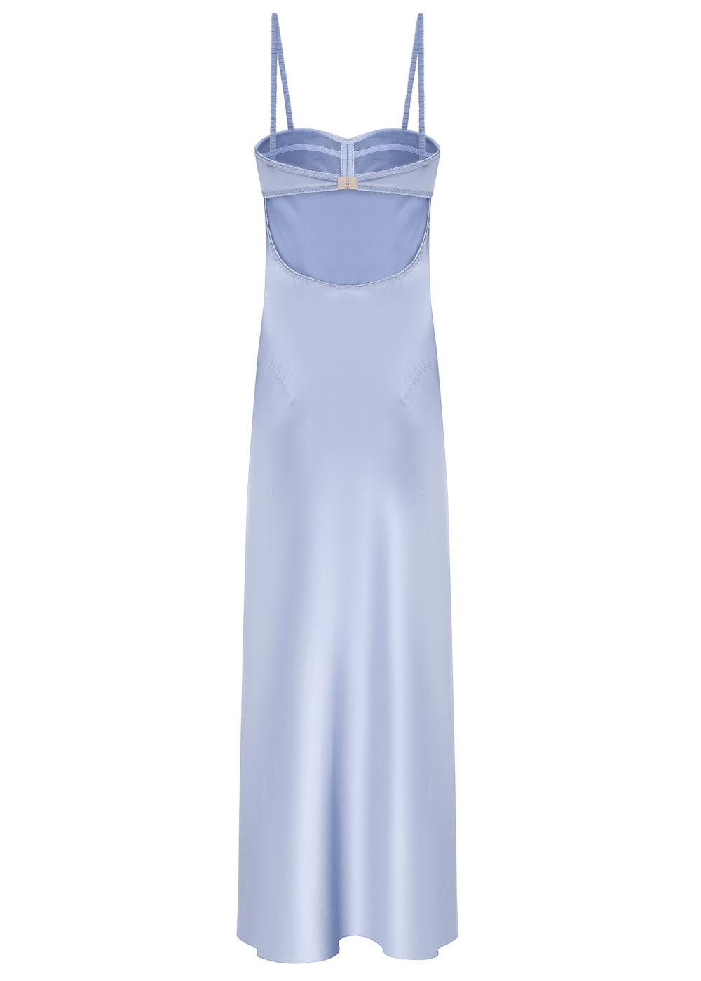 ANNA OCTOBER - Sky Midi Dress - sky blue