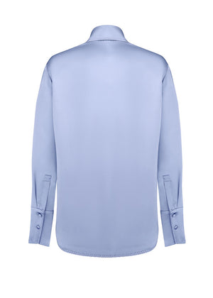 ANNA OCTOBER - Tuesday Shirt - sky blue