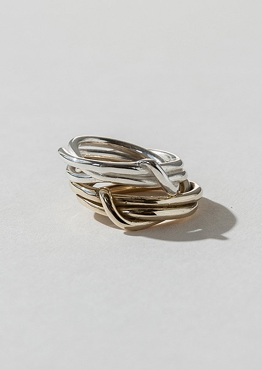 Tangle Ring - Bronze