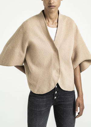 HOUSE OF DAGMAR - Bea Short Cardigan - camel
