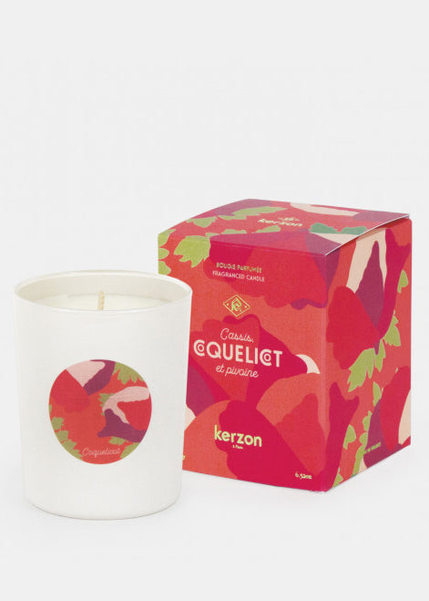 KERZON - Fragranced candle - Coquelicot