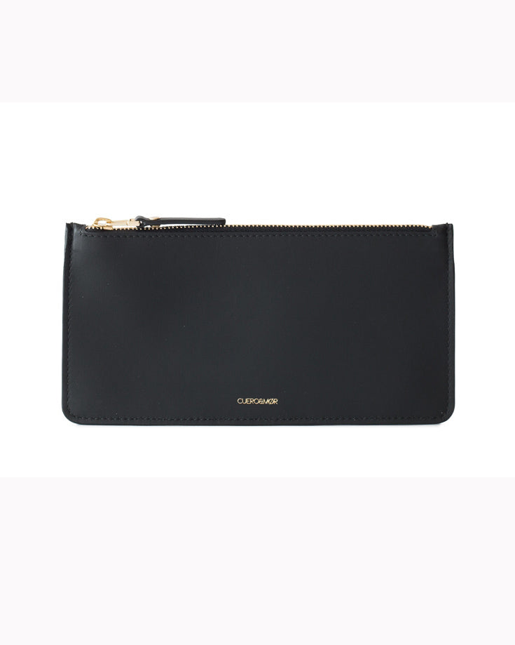CUEROANDMOR - Edna wallet large Black