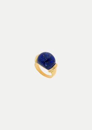 Sophie Buhai Gold Demain Ring Lapis