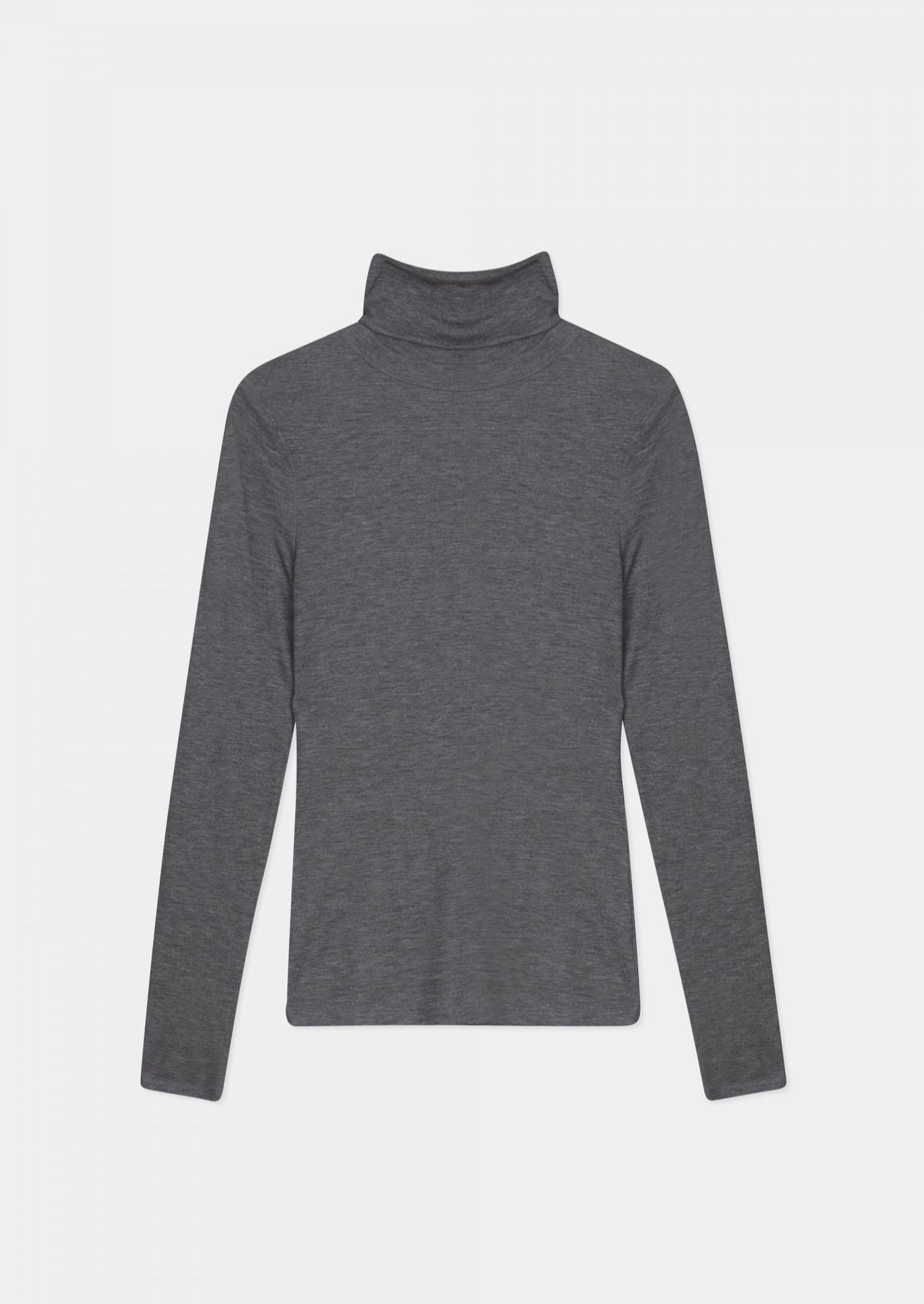 Remi Turtleneck - dark grey melange