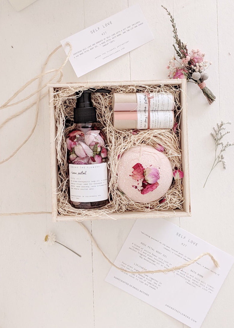 AMONG THE FLOWERS – Self Love Kit