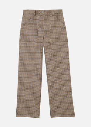 Sachs Pants - Dogstooth pattern