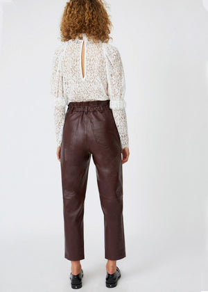 ROSEANNA - FACE LEATHER PANTS