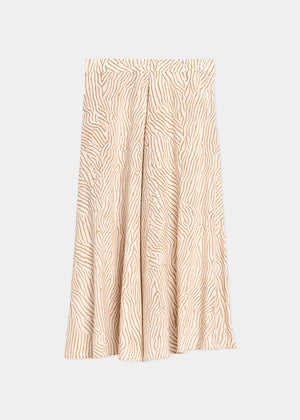 house of dagmar - stacey skirt - sand print