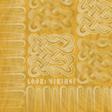 Viking Borre Multiknot Yellow Sherpa Fleece Blanket