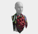 Viking Spring Multicolor Jellinge 1 Silk-like Poly Scarf (4 sizes-3 fabrics)