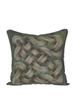 Viking Knot Grey Faux Suede Square Pillow