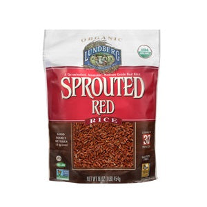 Lundberg Rice, Sprouted, Red (6x1 LB)