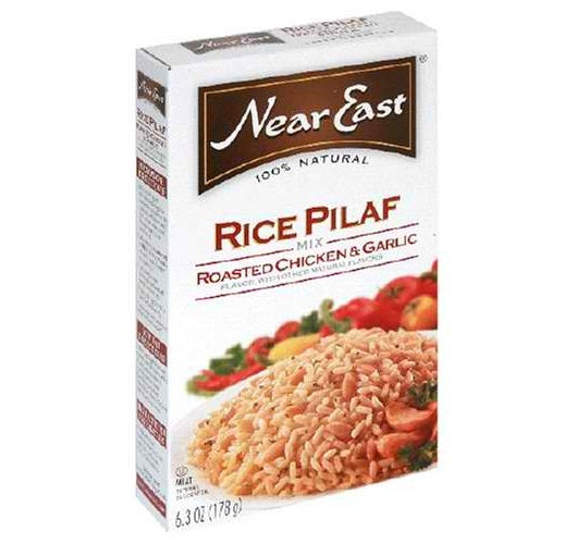 Near East Roasted Chicken & Garlic Pilaf (12x6.3 Oz)