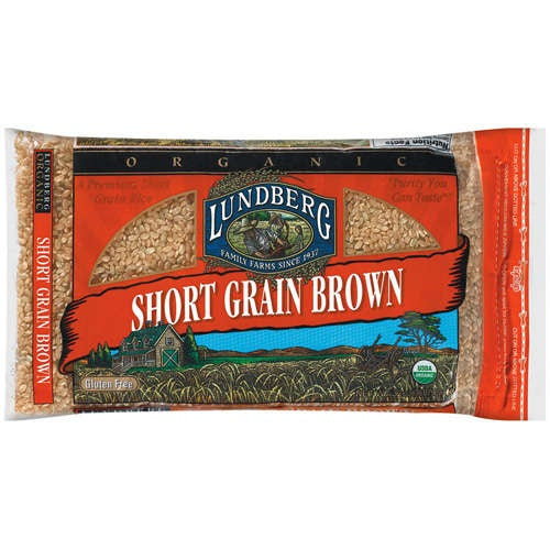 Lundberg Farms Brown Short Rice (1x25lb)