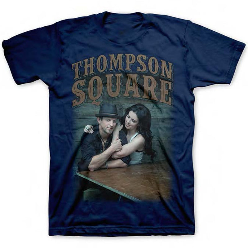 Thompson Square Logo Photo - Mens Navy T-Shirt
