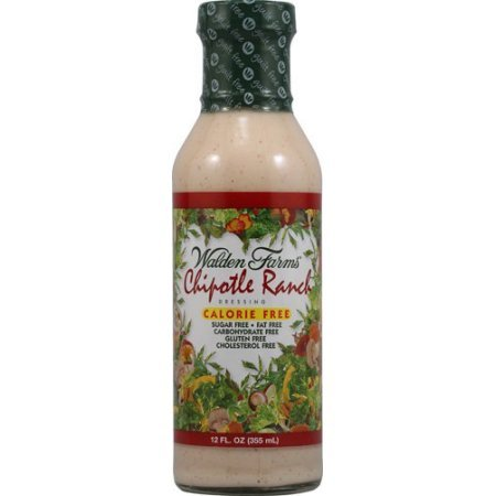 Walden Farms Chipotle Ranch Salad Dressing (6x12 Oz)