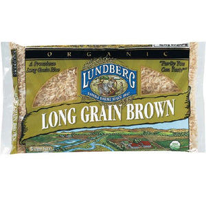 Lundberg Farms Brown Long Rice (1x25lb)