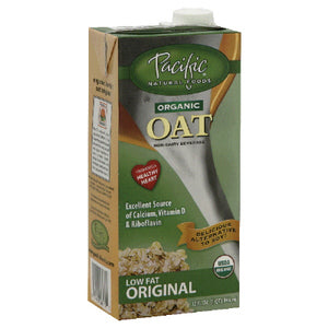 Pacific Natural Naturally Oat Vanilla Beverage (12x32 Oz)