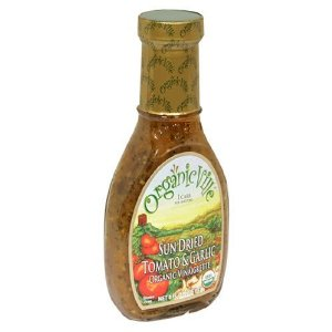 Organicville Sun Dried Tomato Garlic Vinaigrette (6x8 Oz)