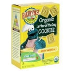 Earth's Best Sesame Street Very Vanilla Cookies (6x5.3 Oz)