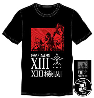 Kingdom Hearts Organization 13 XIII Men's T-Shirt Tee Shirt