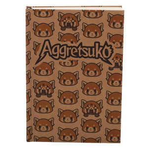 Aggretsuko Journal Anime Gift - Aggretsuko Accessories Anime Journal - Anime Accessories