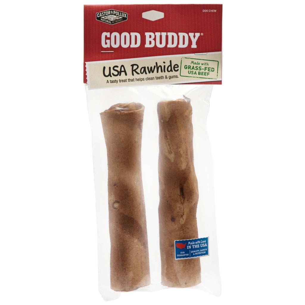 "Castor & Pollux Good Buddy 7"" Rawhide Stick (6x2 PK)"