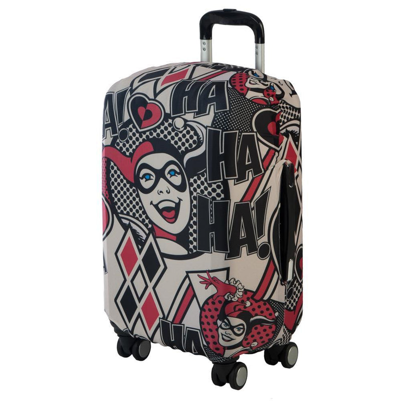 Harley Quinn Luggage Cover DC Comic Accessories Harley Quinn Accessories DC Comic Luggage Cover Harley Quinn Gift