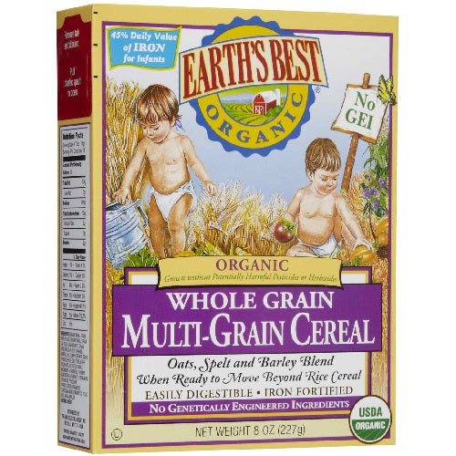 Earth's Best Multi Grain Cereal (12x8 Oz)
