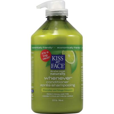 Kiss My Face Whenever Conditioner (1x32 Oz)