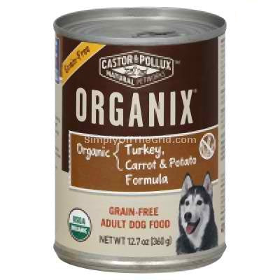 Castor & Pollux Org Turkey Potato Dog (12x12.7OZ )